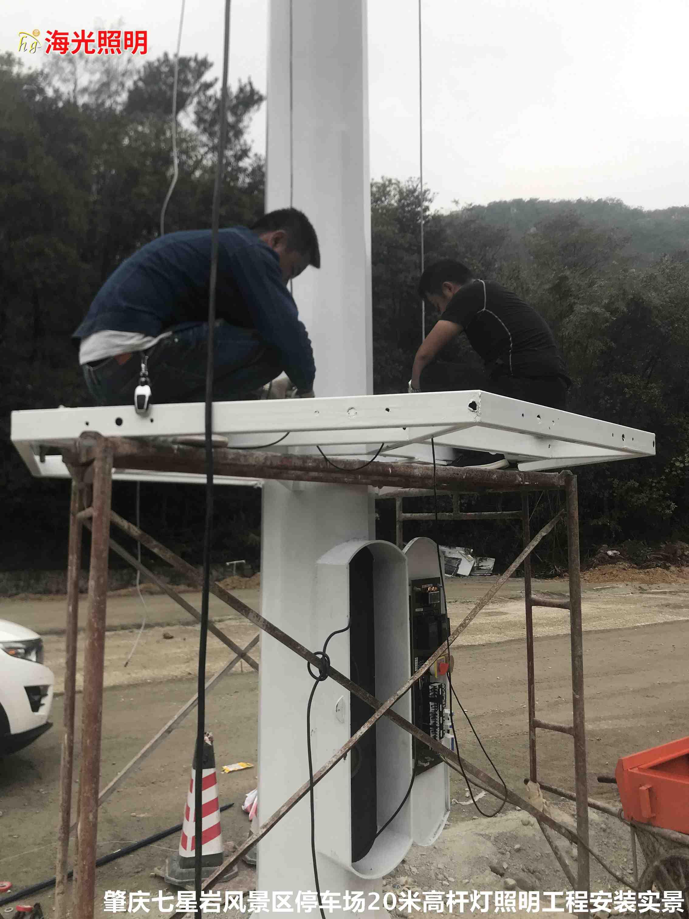 影响高杆灯的安装速度因素