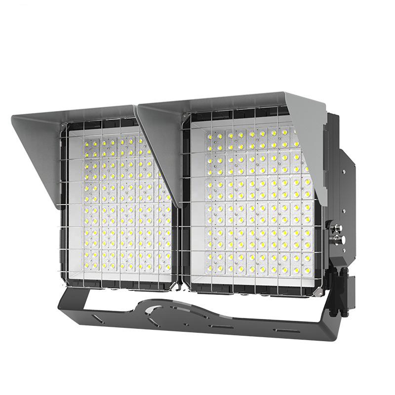 LED投光灯在高杆灯照明中扮演着举足轻重的角色