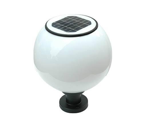 HGTYN-ZT-002 球体太阳能柱头灯