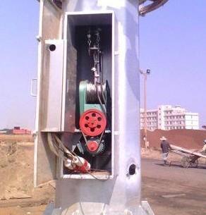 高杆灯升降系统是如何工作的?