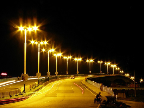 April 2012 purchase of Anhui Dingyuan railway bridge street lights 68 sets of the Company