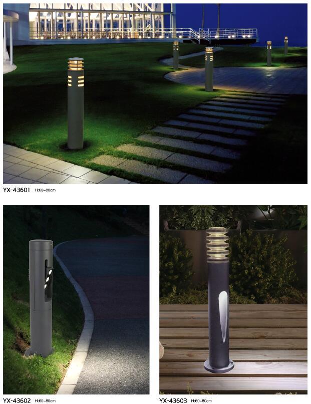 园林景观LED草坪灯的一般安装步骤?