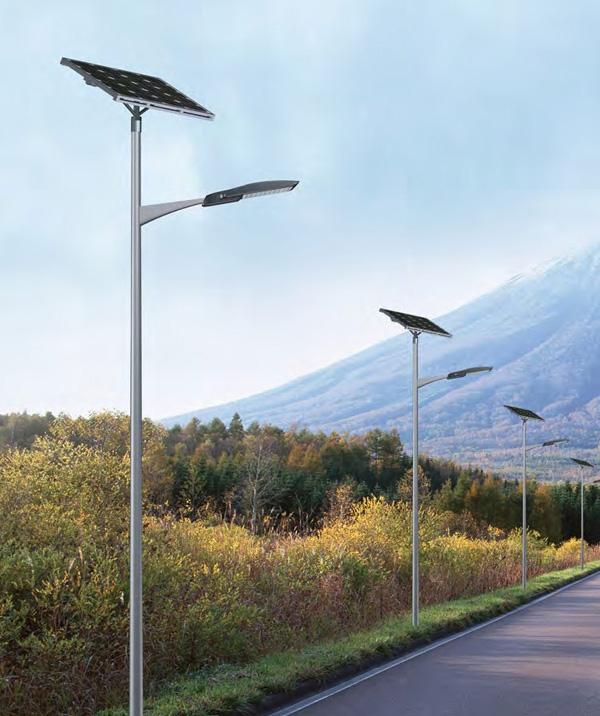 [太阳能led路灯厂家]LED太阳能路灯的工作原理到底是怎么样的?太阳能板安装角度怎么调更利于吸收能源